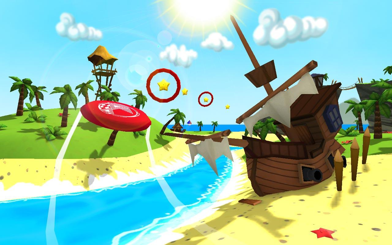 Free Windows Game: Frisbee Forever